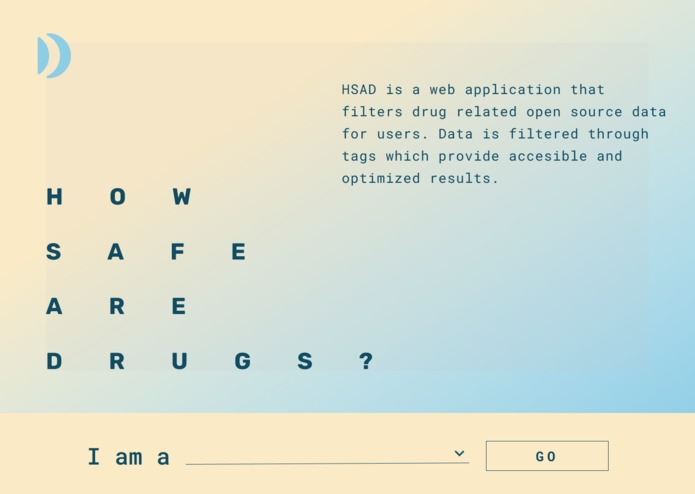 HSAD – screenshot 1