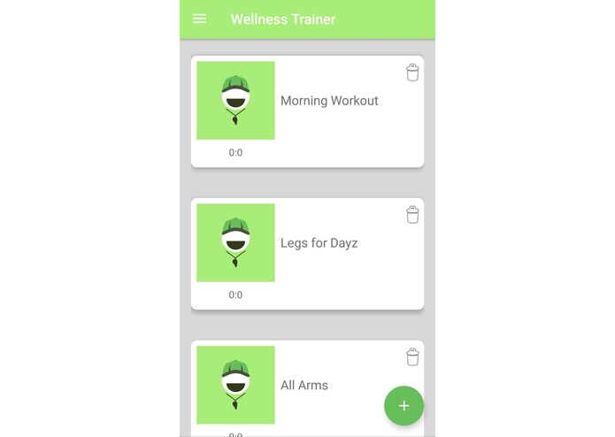 Wellness Trainer – screenshot 2