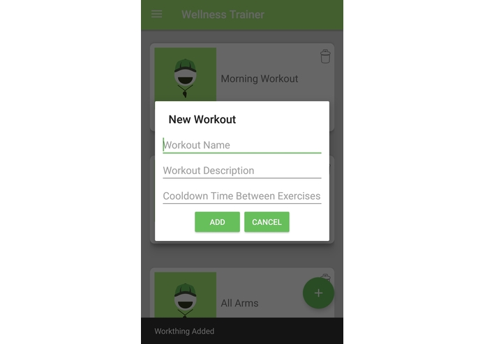 Wellness Trainer – screenshot 1