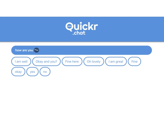 Quickr.chat – screenshot 1