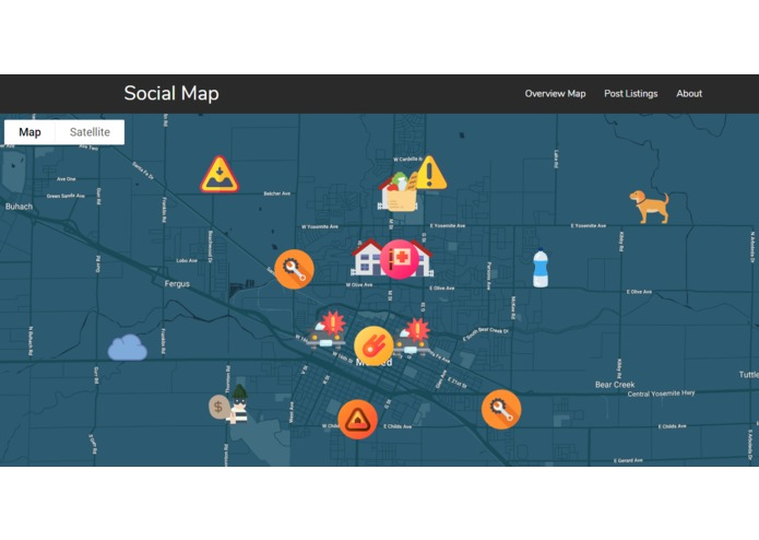 Social Map – screenshot 1