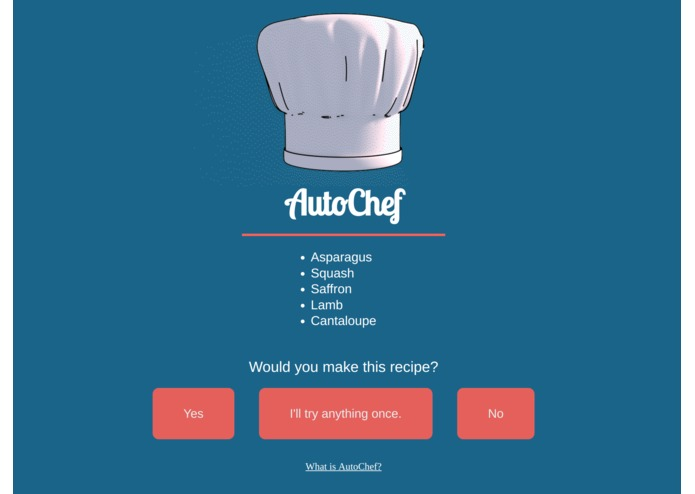 AutoChef – screenshot 1