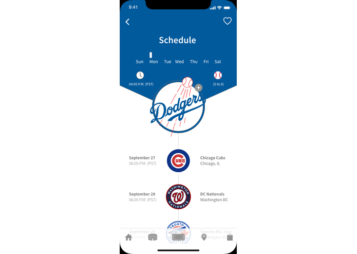 The Grand Slam Mobile App – screenshot 2