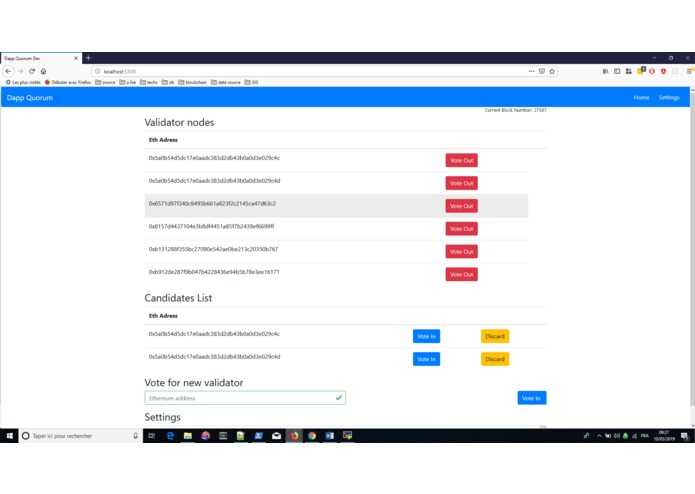 quorum-validators – screenshot 1