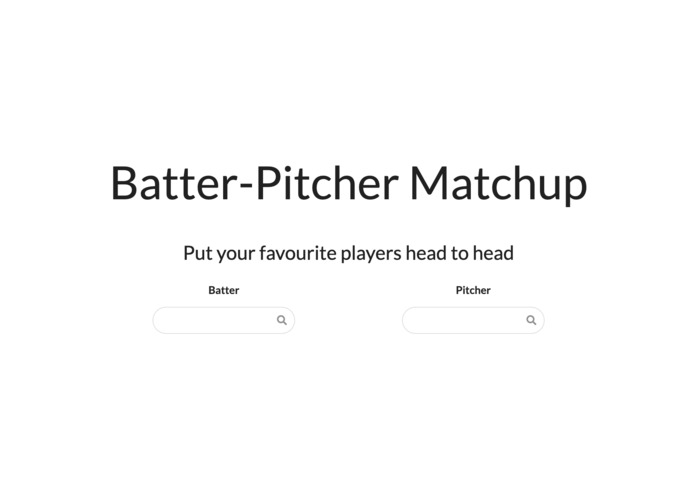 Pitcher Batter Matchup – screenshot 1