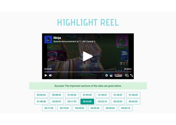 Highlight Reel – screenshot 2