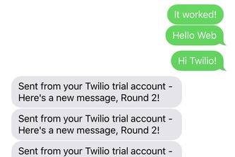 Twilio-API-Project