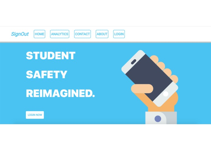 SignOut NJRSF - School Safety with SaaS & Data Science | Devpost