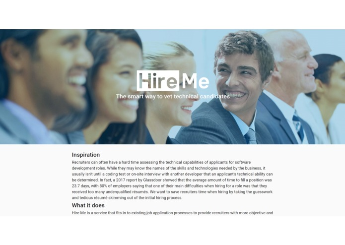 Hire Me – screenshot 1