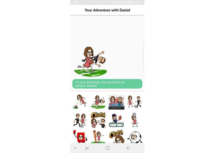 Doing BitsMoji – screenshot 2