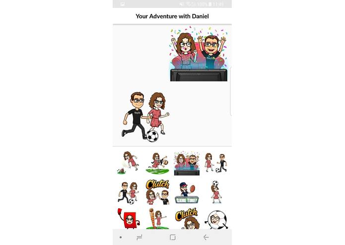 Doing BitsMoji – screenshot 3