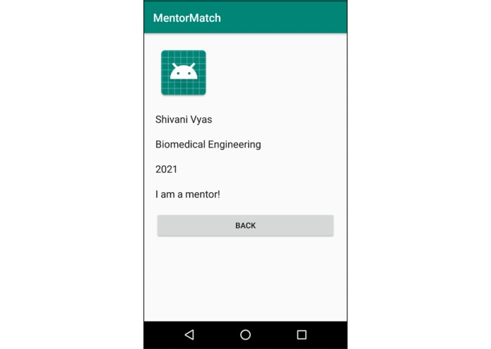 Mentor Match – screenshot 3