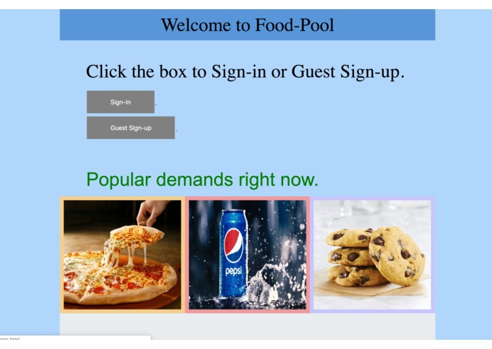 Food Pool – screenshot 1