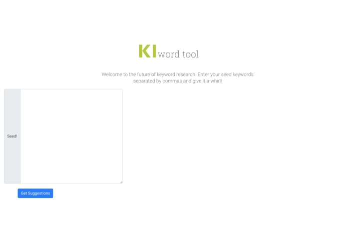 KI-word Tool  – screenshot 1