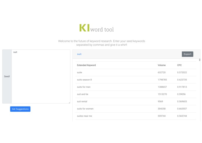 KI-word Tool  – screenshot 2