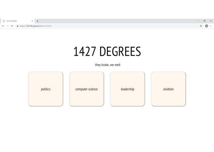 1427 DEGREES – screenshot 1