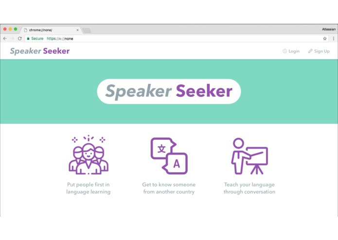 Speaker Seeker – screenshot 1