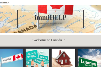 immiHELP: A tool for the immigrants