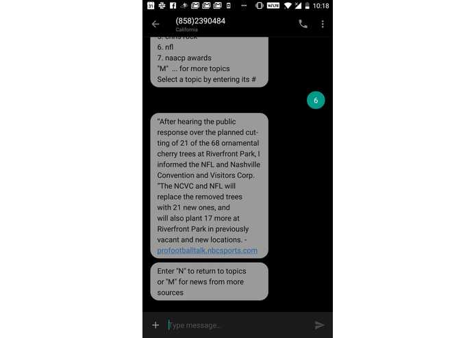 NewsByText – screenshot 4