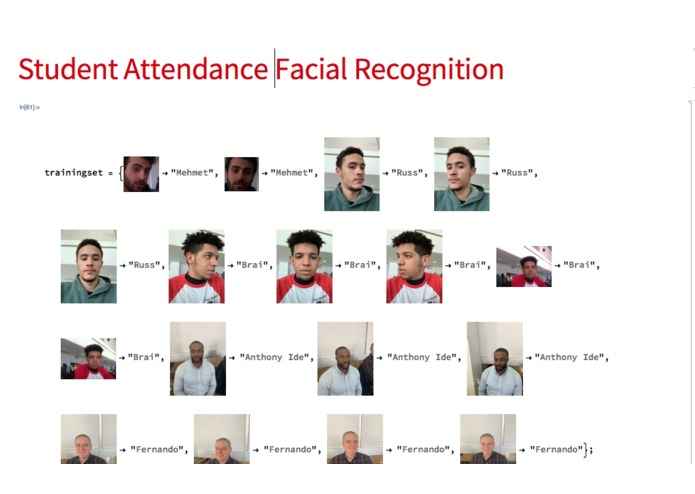 Student Attendance Facial Recognition  – screenshot 2