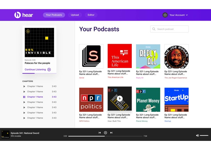 hear: podcasts made accessible – screenshot 4