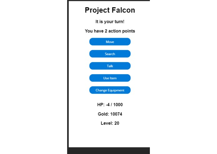 Project Lord Falcon  – screenshot 2