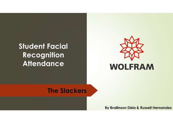 Student Attendance Facial Recognition  – screenshot 1