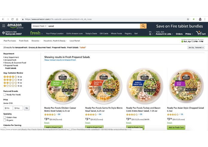 Amazon Friendly – screenshot 4