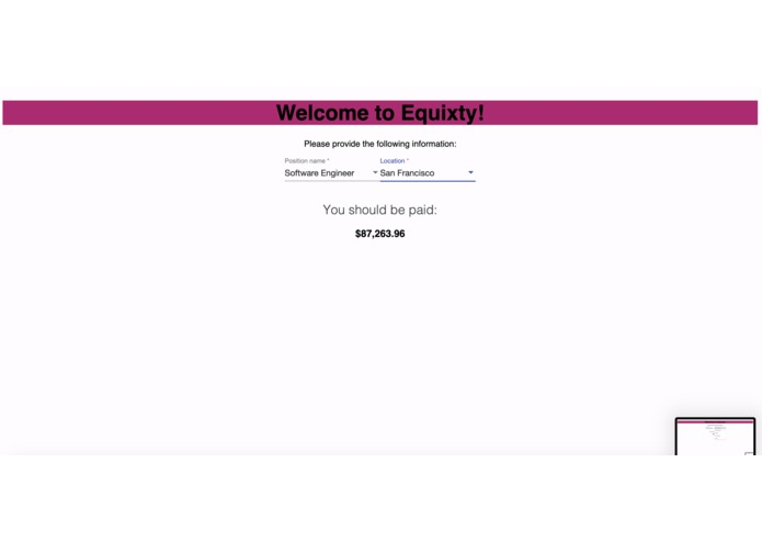Equity – screenshot 1