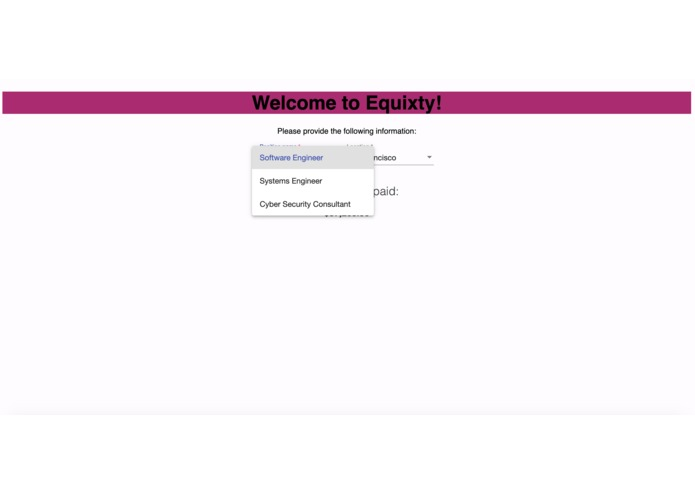 Equity – screenshot 3