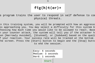 Self Defense Trainer using opencv & GCloud AutoML Vision