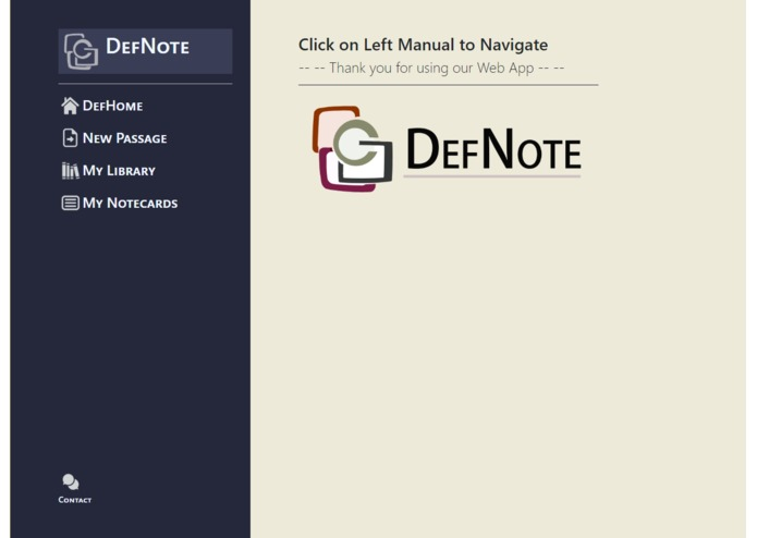 DefNote – screenshot 1