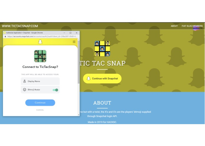 TicTacSnap - A Snapchat Game – screenshot 2