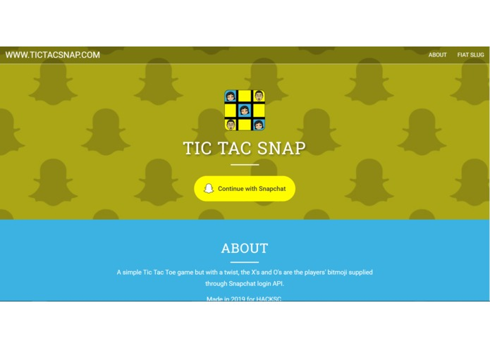 TicTacSnap - A Snapchat Game – screenshot 1