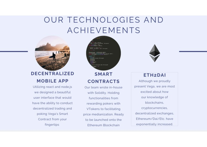 Vega | Community Decentralized Technologies – screenshot 10