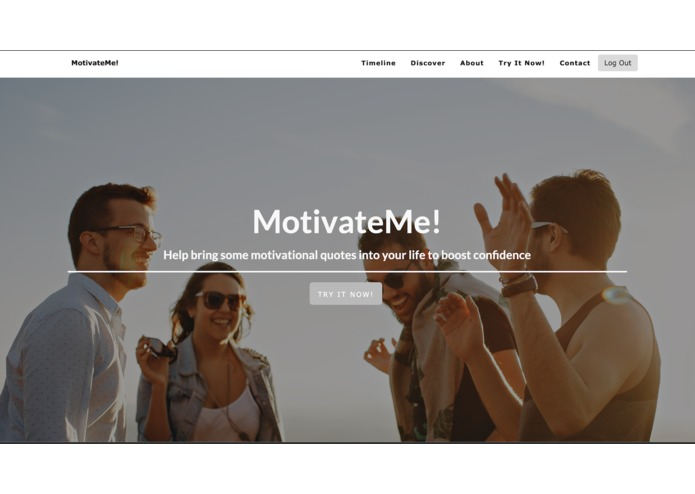 MotivateMe – screenshot 2