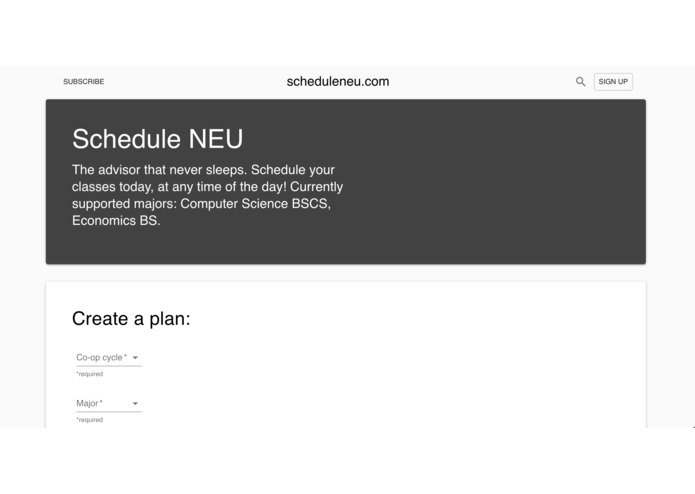 ScheduleNEU – screenshot 1
