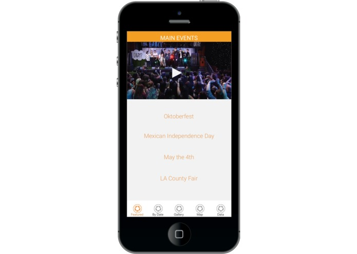 BROKEN BARRIERS Events streaming app – screenshot 1