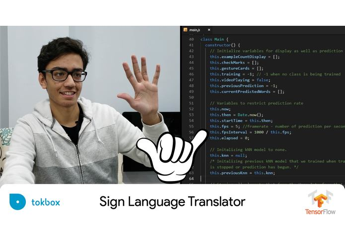 Sign Language Translator – screenshot 1