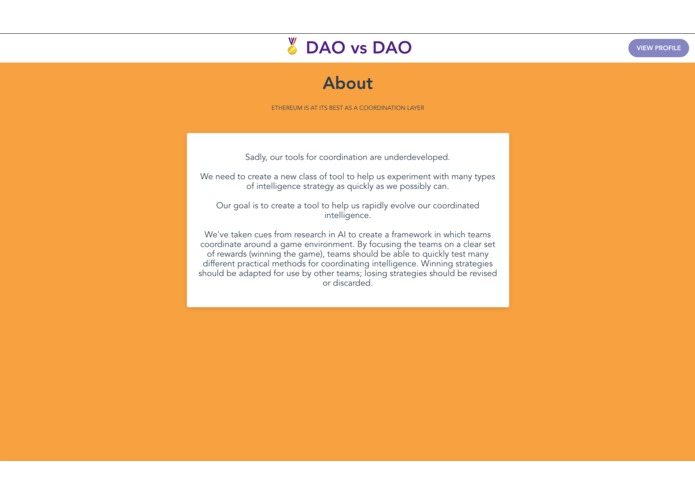 DAO vs DAO – screenshot 9