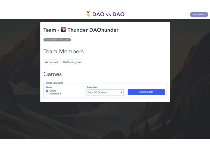 DAO vs DAO – screenshot 8