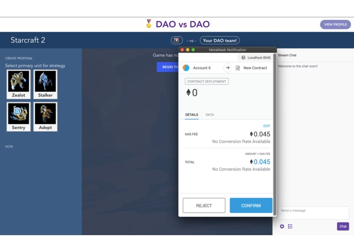 DAO vs DAO – screenshot 5