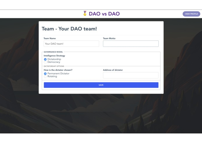 DAO vs DAO – screenshot 6