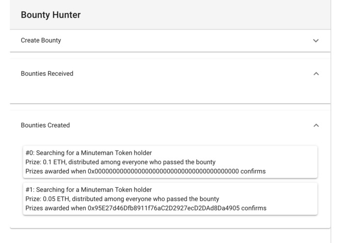 Token Bounty Hunter – screenshot 1