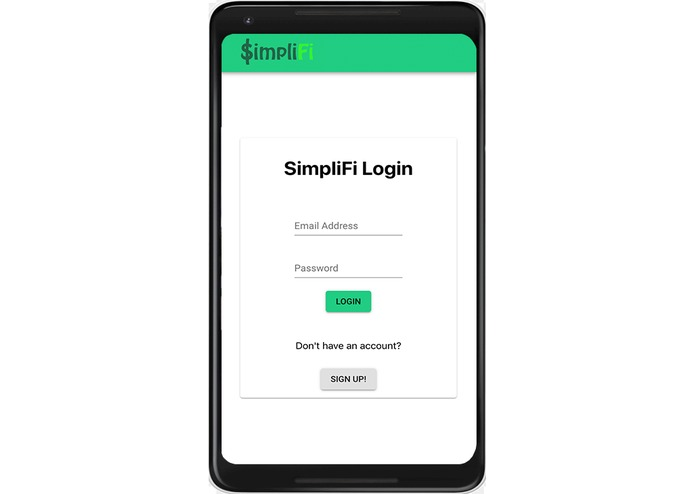 SimpliFi – screenshot 1