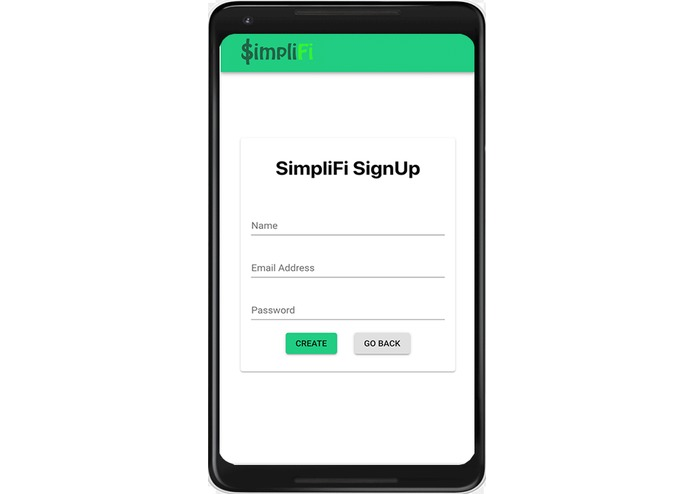 SimpliFi – screenshot 2