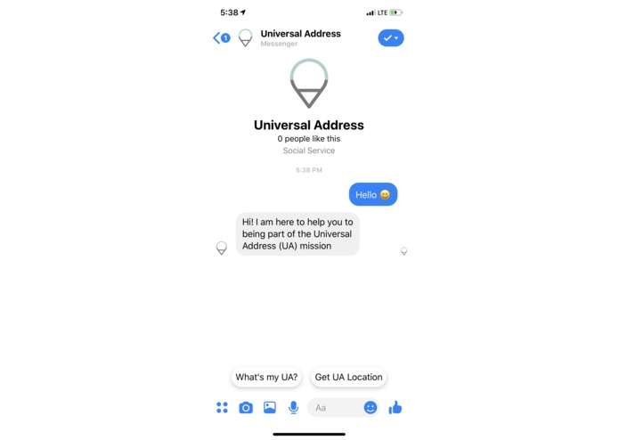 Universal Address – screenshot 3