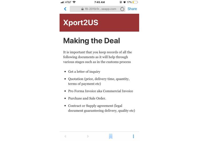 Xport2US – screenshot 5