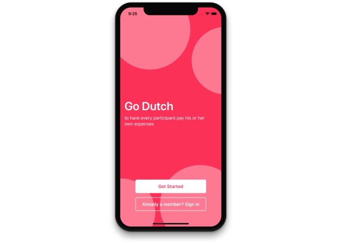 Go Dutch – screenshot 1