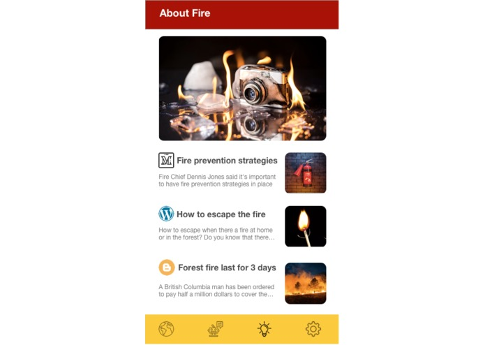 Fireaware (team #2) – screenshot 5
